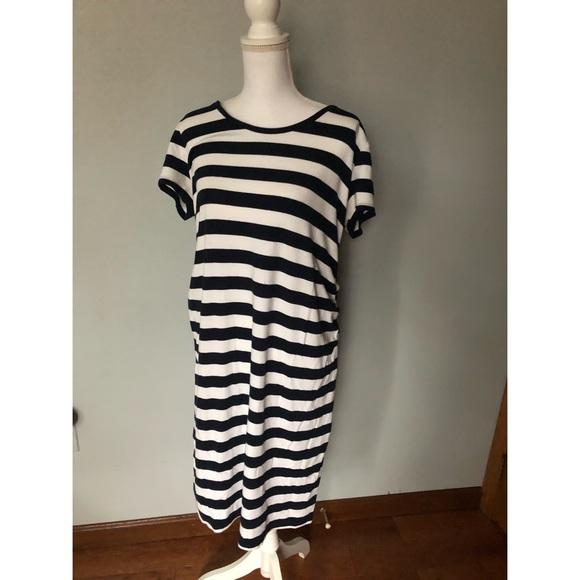 a72c8cb71f0ef Liz Lange for Target Dresses & Skirts - Maternity Dress - Navy & White  Stripes /